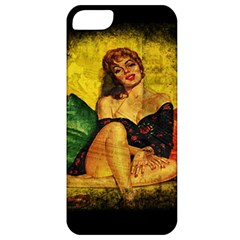 Pin Up Girl  Apple Iphone 5 Classic Hardshell Case by Valentinaart