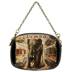 Vintage Circus  Chain Purses (one Side)  by Valentinaart