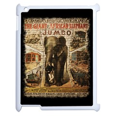 Vintage Circus  Apple Ipad 2 Case (white)