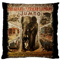Vintage Circus  Standard Flano Cushion Case (two Sides) by Valentinaart