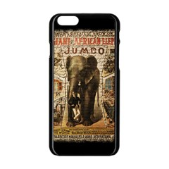 Vintage Circus  Apple Iphone 6/6s Black Enamel Case