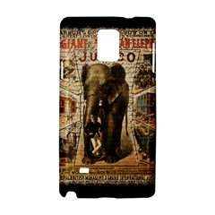 Vintage Circus  Samsung Galaxy Note 4 Hardshell Case by Valentinaart