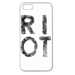 Riot Apple Seamless Iphone 5 Case (clear)