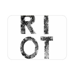 Riot Double Sided Flano Blanket (mini)