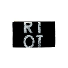 Riot Cosmetic Bag (small)  by Valentinaart