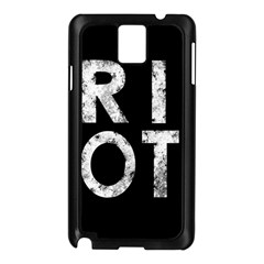 Riot Samsung Galaxy Note 3 N9005 Case (black)