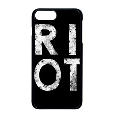 Riot Apple Iphone 8 Plus Seamless Case (black)