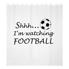 Football Fan  Shower Curtain 66  X 72  (large)  by Valentinaart