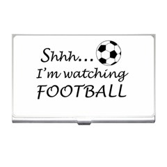 Football Fan  Business Card Holders by Valentinaart