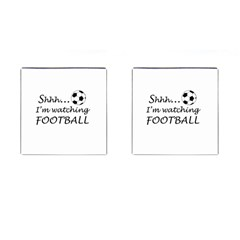 Football Fan  Cufflinks (square) by Valentinaart