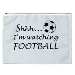 Football Fan  Cosmetic Bag (xxl)