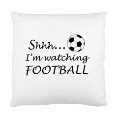 Football Fan  Standard Cushion Case (two Sides) by Valentinaart