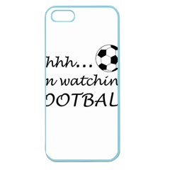 Football Fan  Apple Seamless Iphone 5 Case (color) by Valentinaart