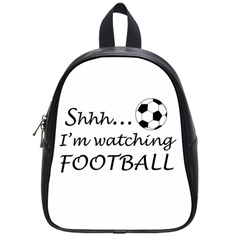 Football Fan  School Bag (small) by Valentinaart