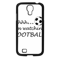 Football Fan  Samsung Galaxy S4 I9500/ I9505 Case (black) by Valentinaart