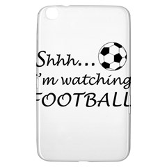 Football Fan  Samsung Galaxy Tab 3 (8 ) T3100 Hardshell Case  by Valentinaart