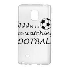 Football Fan  Galaxy Note Edge by Valentinaart
