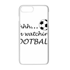Football Fan  Apple Iphone 7 Plus Seamless Case (white) by Valentinaart