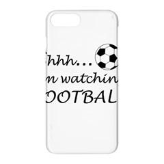 Football Fan  Apple Iphone 7 Plus Hardshell Case by Valentinaart