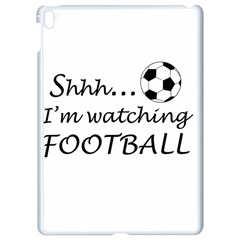 Football Fan  Apple Ipad Pro 9 7   White Seamless Case by Valentinaart
