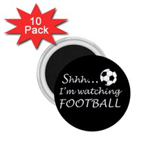 Football Fan  1 75  Magnets (10 Pack)  by Valentinaart