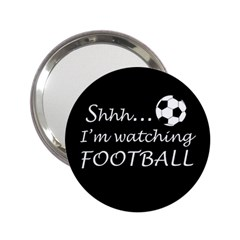 Football Fan  2 25  Handbag Mirrors by Valentinaart