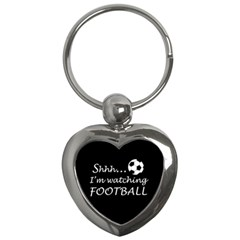 Football Fan  Key Chains (heart)  by Valentinaart