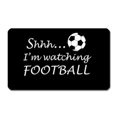 Football Fan  Magnet (rectangular) by Valentinaart