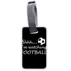Football Fan  Luggage Tags (two Sides) by Valentinaart