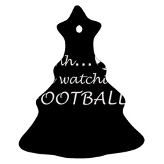 Football Fan  Ornament (christmas Tree)  by Valentinaart