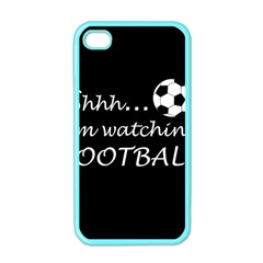 Football Fan  Apple Iphone 4 Case (color) by Valentinaart