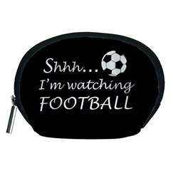 Football Fan  Accessory Pouches (medium)  by Valentinaart