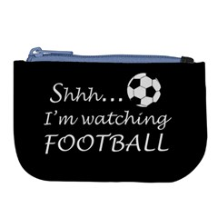 Football Fan  Large Coin Purse by Valentinaart