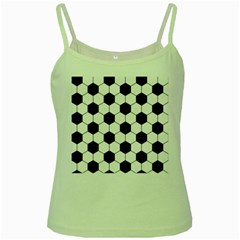 Football Green Spaghetti Tank