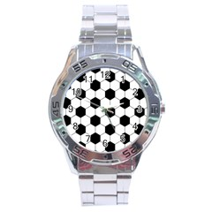 Football Stainless Steel Analogue Watch by Valentinaart