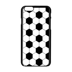 Football Apple Iphone 6/6s Black Enamel Case