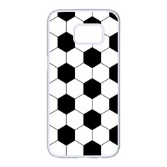 Football Samsung Galaxy S7 Edge White Seamless Case