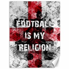 Football Is My Religion Canvas 36  X 48