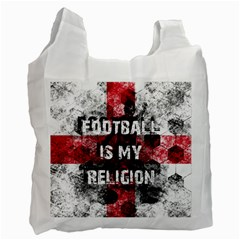 Football Is My Religion Recycle Bag (one Side)