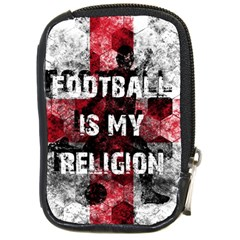 Football Is My Religion Compact Camera Cases by Valentinaart