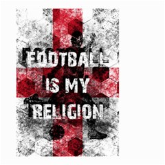 Football Is My Religion Small Garden Flag (two Sides) by Valentinaart