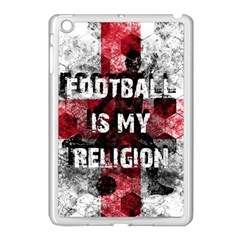 Football Is My Religion Apple Ipad Mini Case (white) by Valentinaart