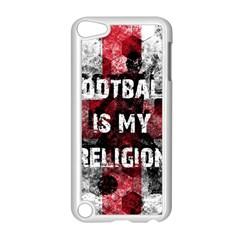 Football Is My Religion Apple Ipod Touch 5 Case (white) by Valentinaart
