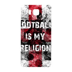 Football Is My Religion Samsung Galaxy Alpha Hardshell Back Case by Valentinaart