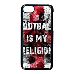Football Is My Religion Apple Iphone 7 Seamless Case (black)