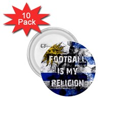 Football Is My Religion 1 75  Buttons (10 Pack) by Valentinaart