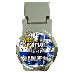 Football Is My Religion Money Clip Watches by Valentinaart
