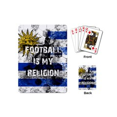 Football Is My Religion Playing Cards (mini)  by Valentinaart