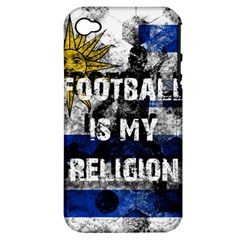 Football Is My Religion Apple Iphone 4/4s Hardshell Case (pc+silicone)