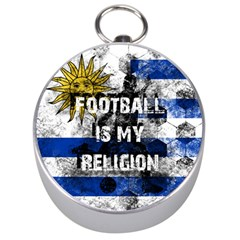Football Is My Religion Silver Compasses by Valentinaart